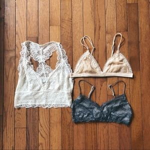Urban Outfitters Bralette Bundle